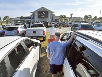 Local Churches Turn to Online, Drive-In Services