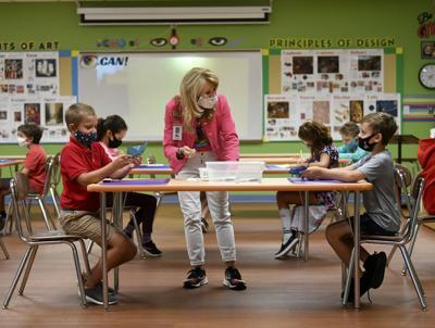 Kids crowd classrooms for summer months