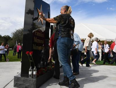 Emotions swell as ceremony honors families