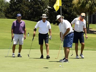Only in The Villages: Right- and left-handed golfers