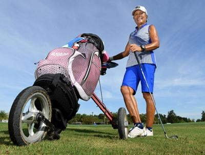 Villager walks 72 holes of executive golf in a day