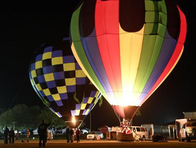 Balloon fest glows with good feelings