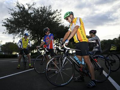 Bicycle club masters social distancing