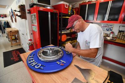 Villages Resident's Passion For Cars Inspires Metal Artwork