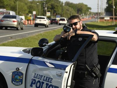 Lady Lake police stop drivers, raise awareness