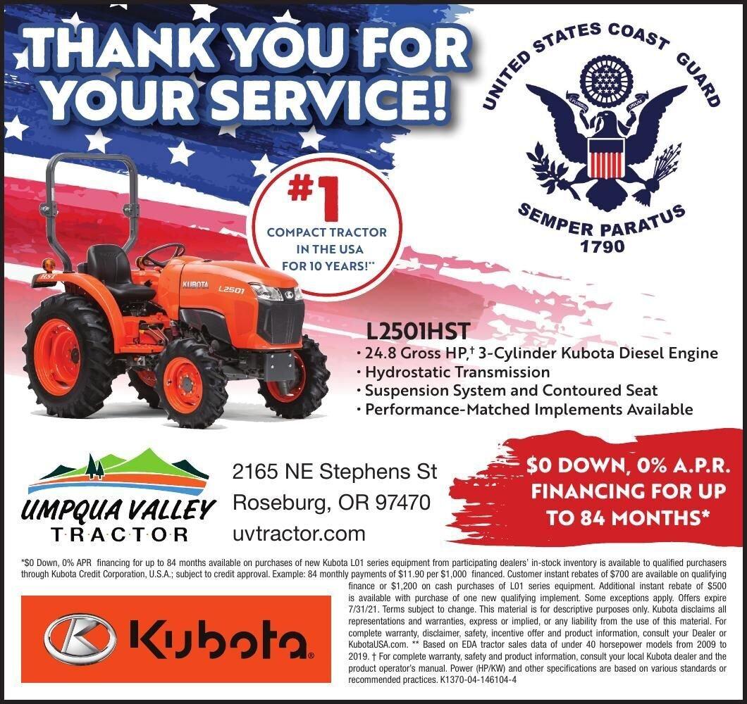 Kubota Umqua Valley Traktor