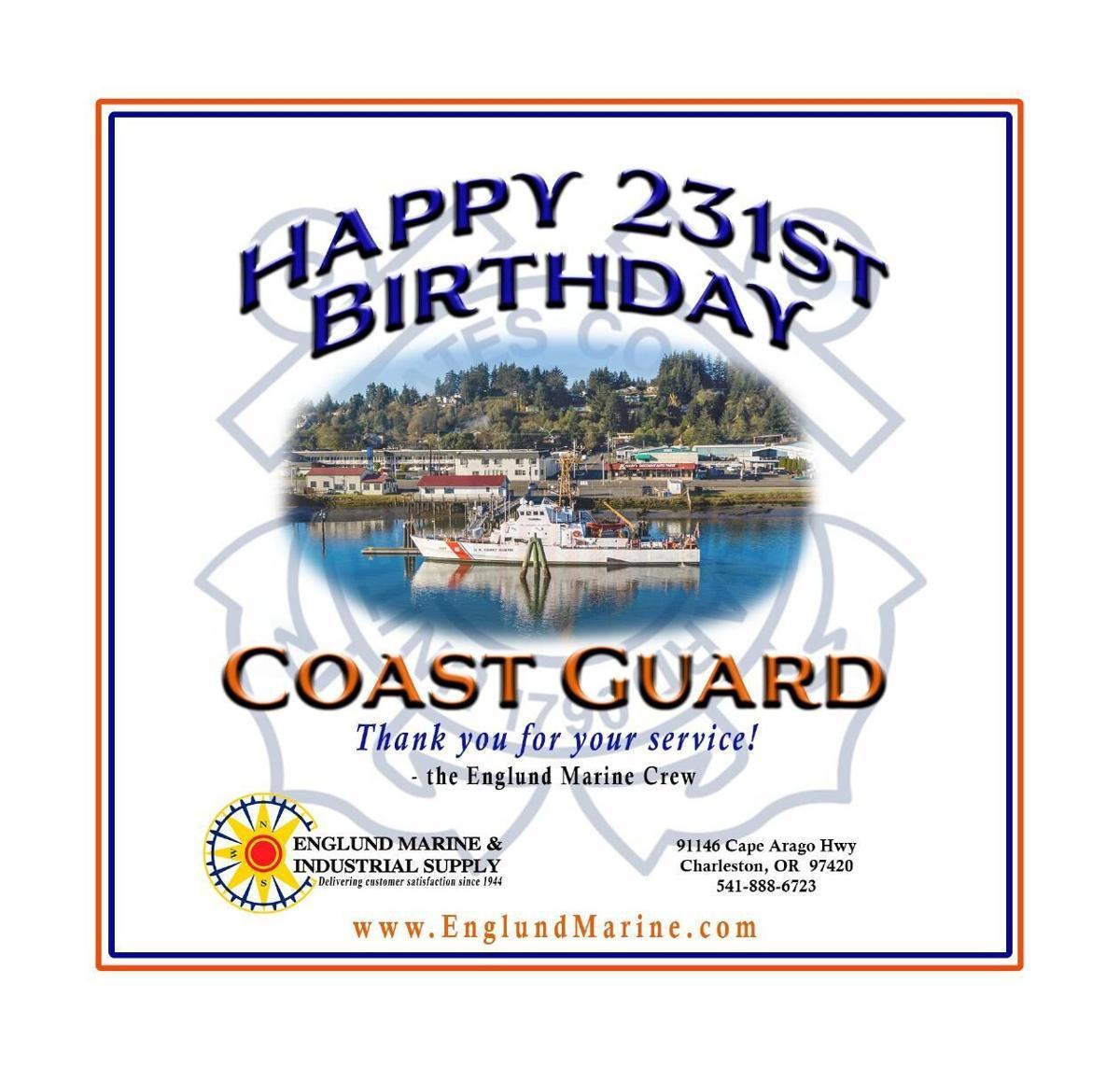 Englund Marine Salute the Coast Guard 2021