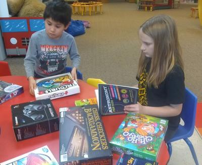 The Kids Zone at the Bandon Library