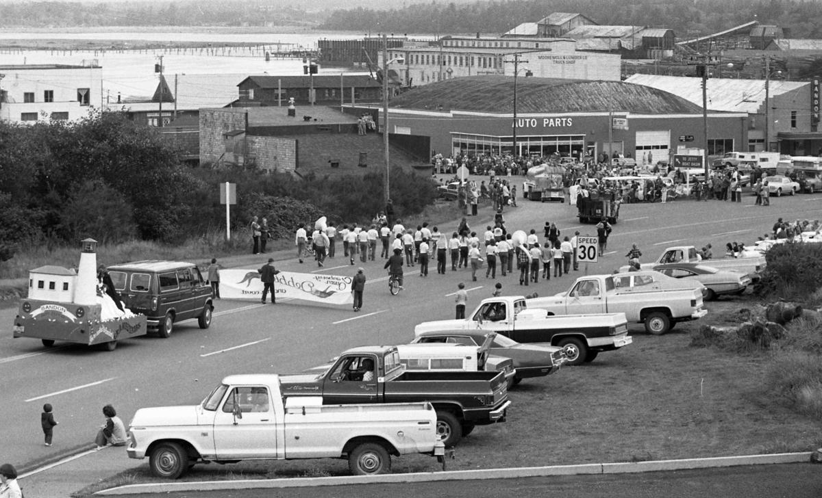 Cranberry Festival parade, 1977