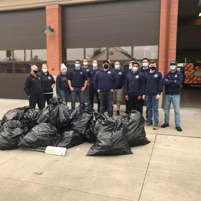 Coos Bay Fire Department cleans up