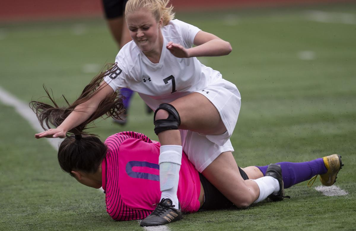 North Bend Girls Soccerl Vs. Marshfield