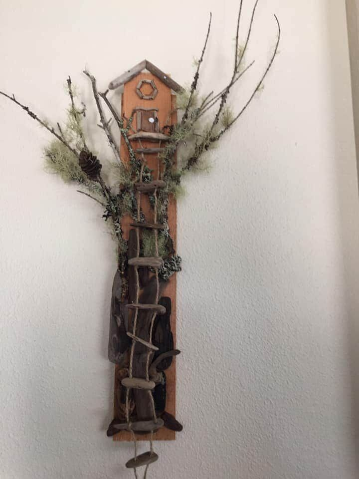'Treehouse' by Sandy Schroeder for the 'Woodn't it be Nice' show