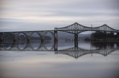 McCullough Bridge at Low Tide