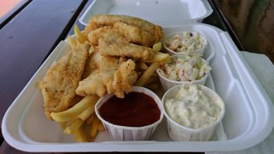 Bandon Bait fish and chips