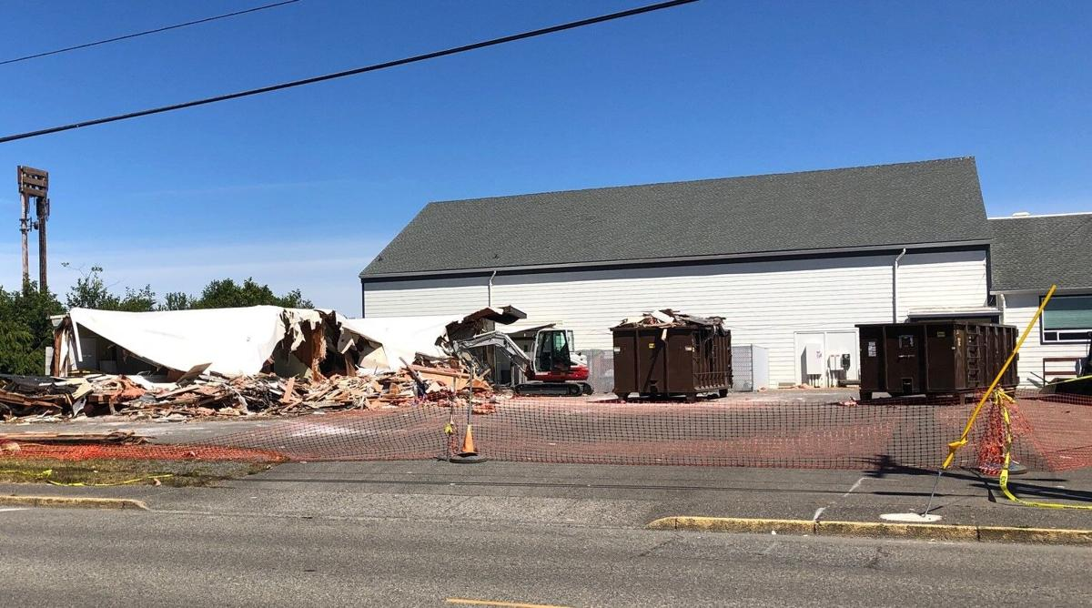Ocean Crest modular classrooms demolished