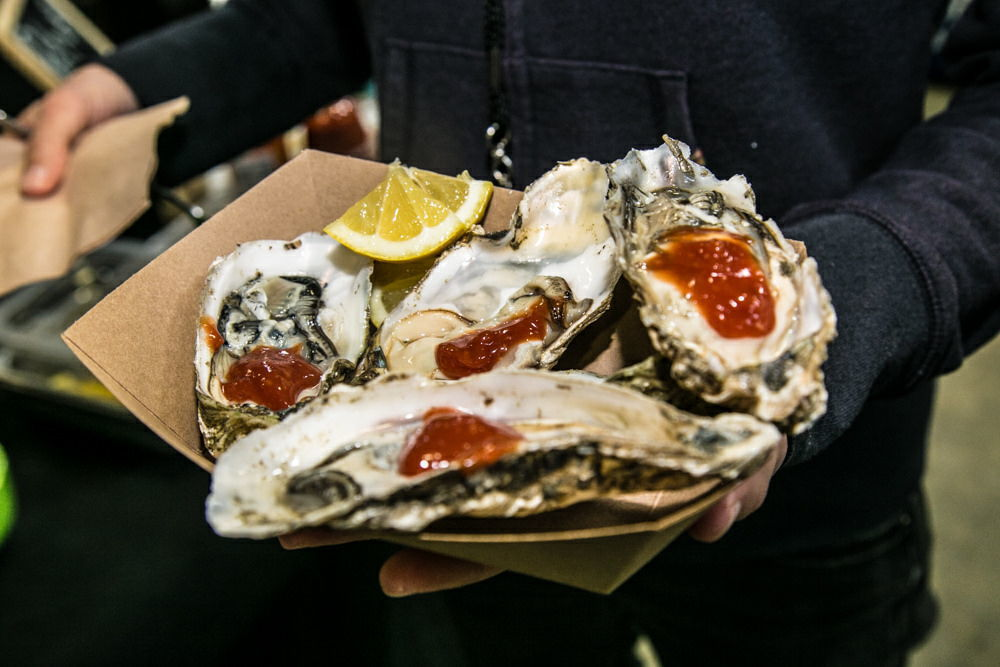 Clausen Oyster at Gorse Blossom