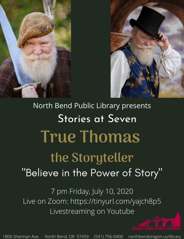True Thomas the storyteller at NBPL