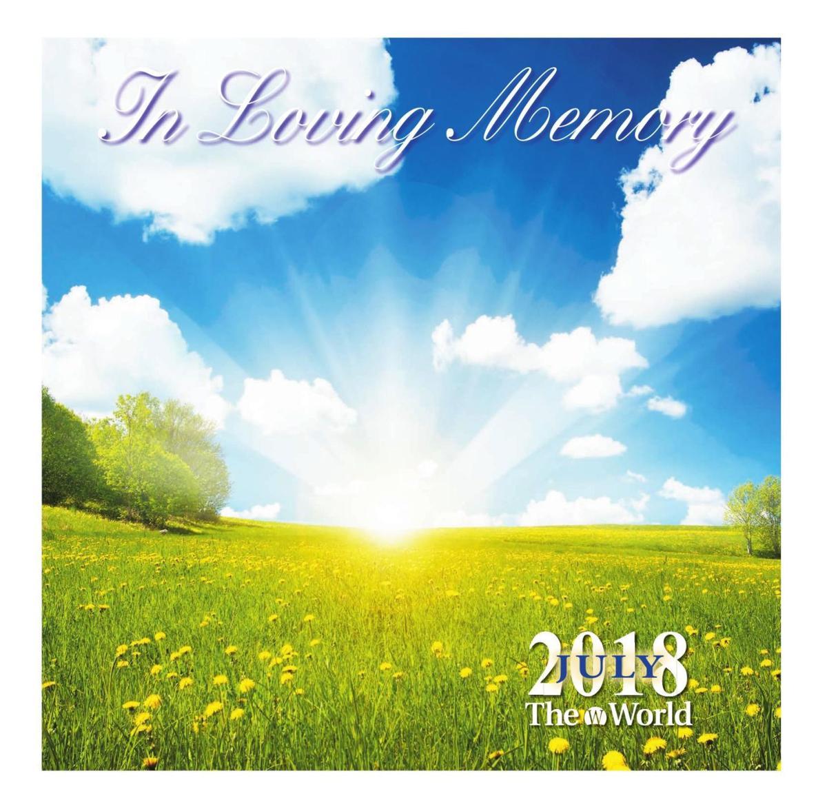 in loving memory july 2018 archive