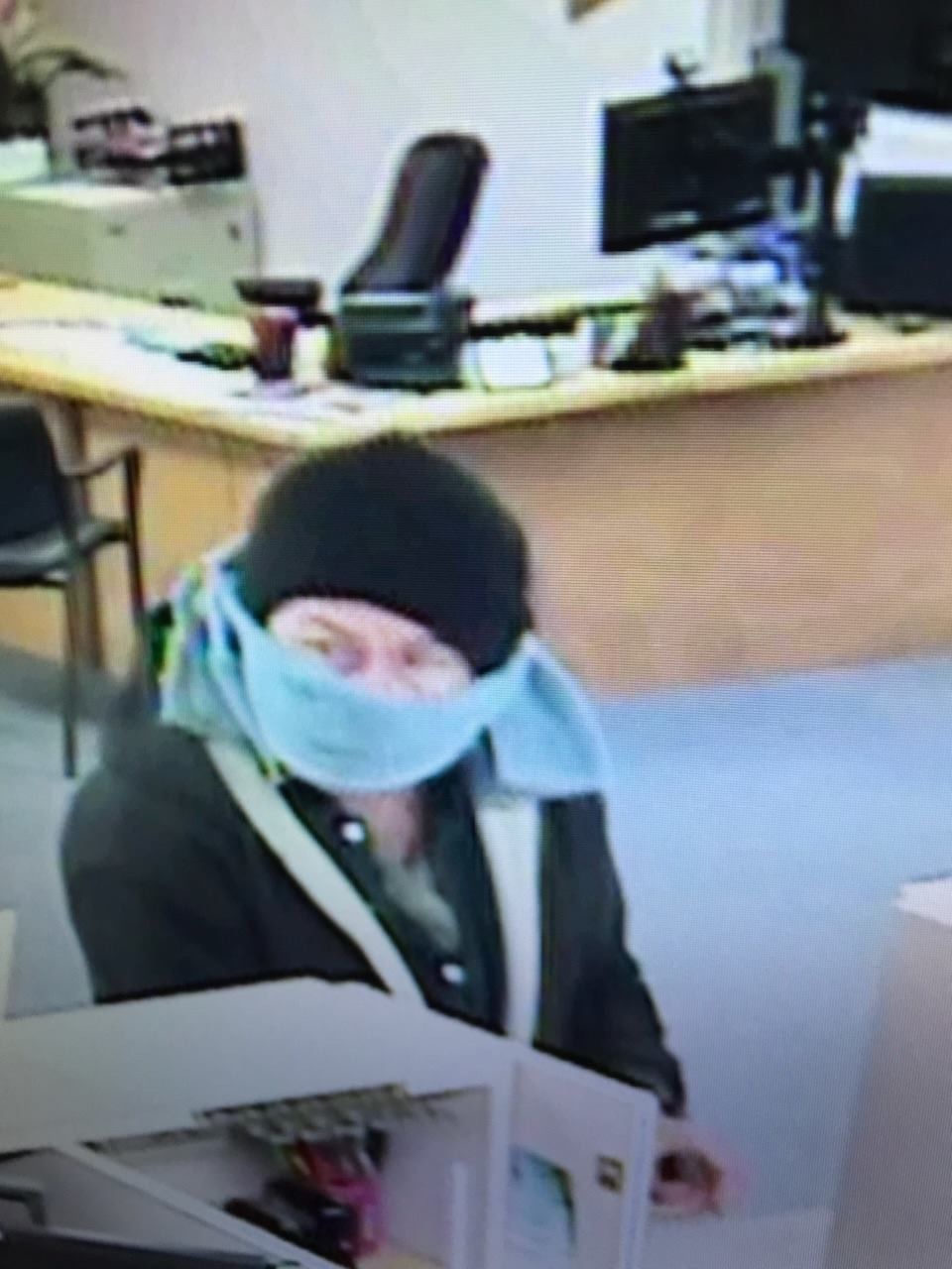 Port Orford bank robbery suspect