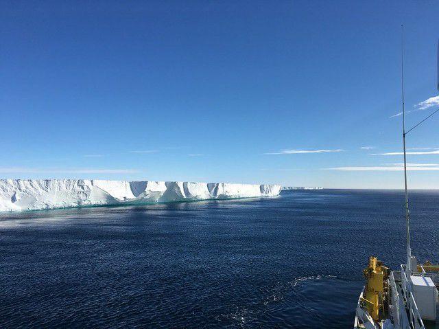 icebreaker R/V Araon.