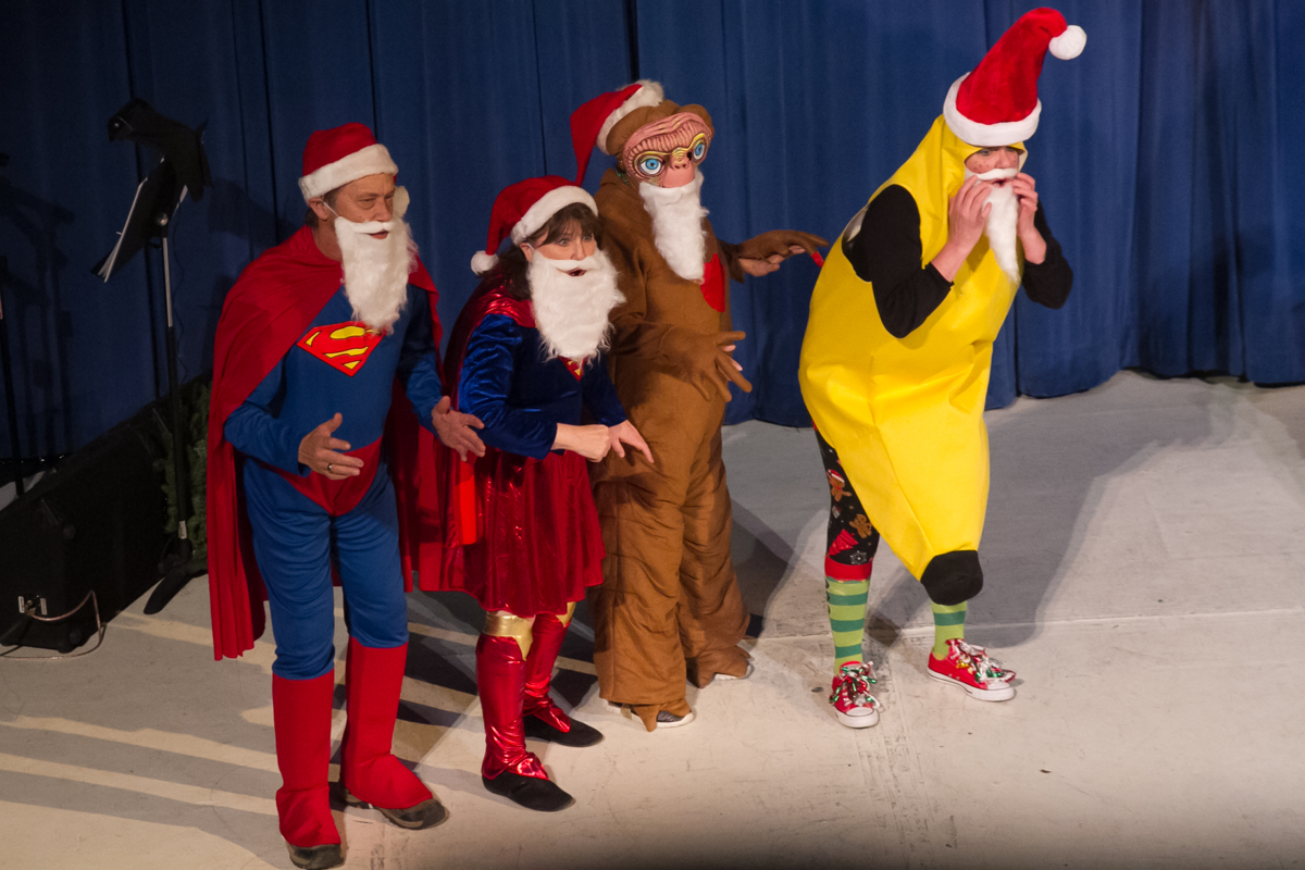 2019 Christmas Opry's comedy team