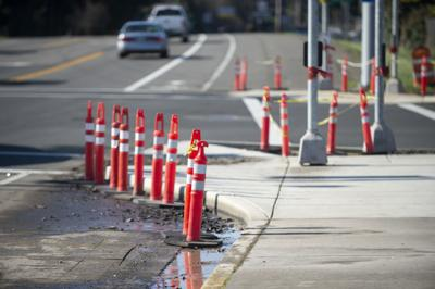 Reedsport Sidewalk Construction