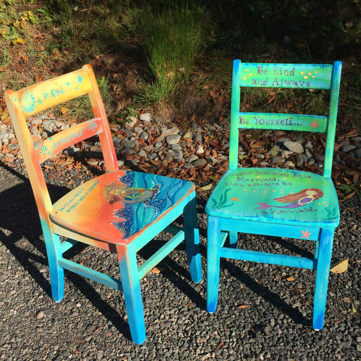 Mermaid Chairs 20th Chair-ity event