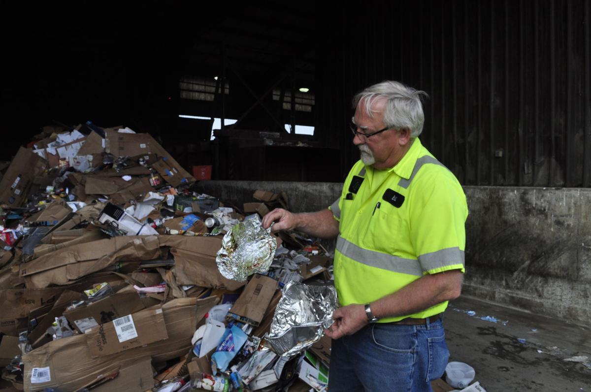 Recycling contamination