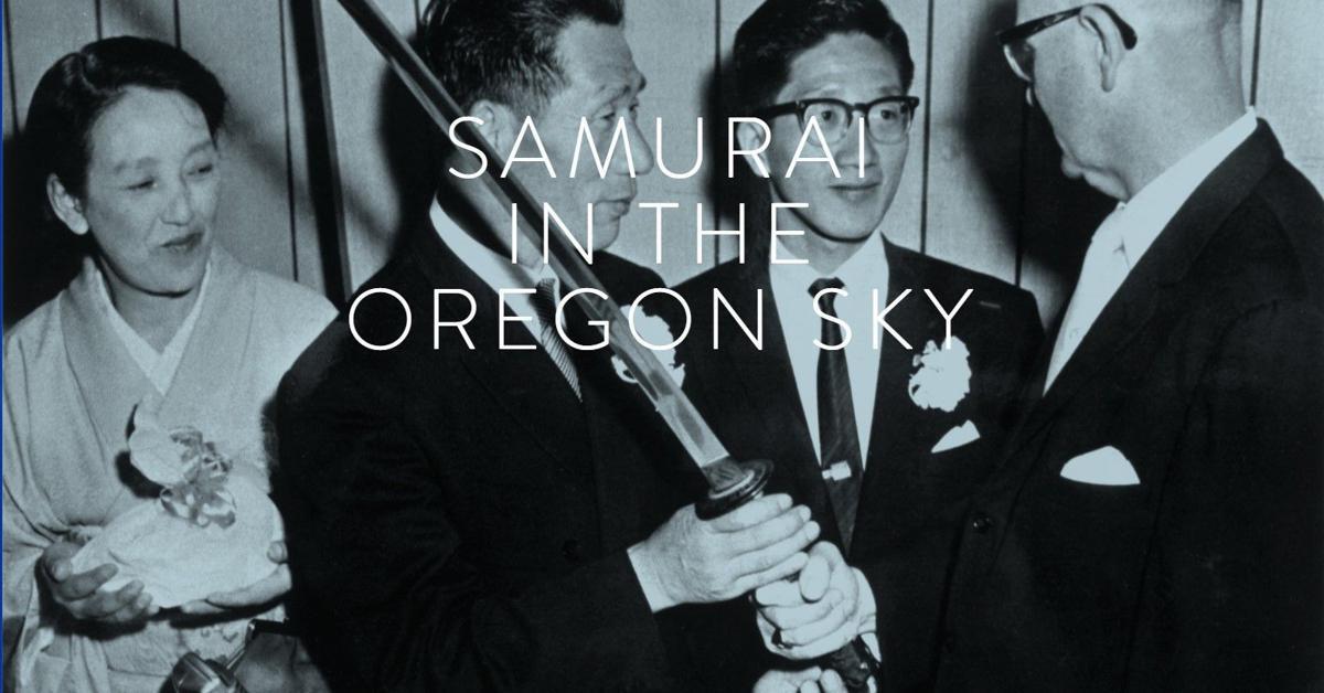Samurai in the Ocean Sky image