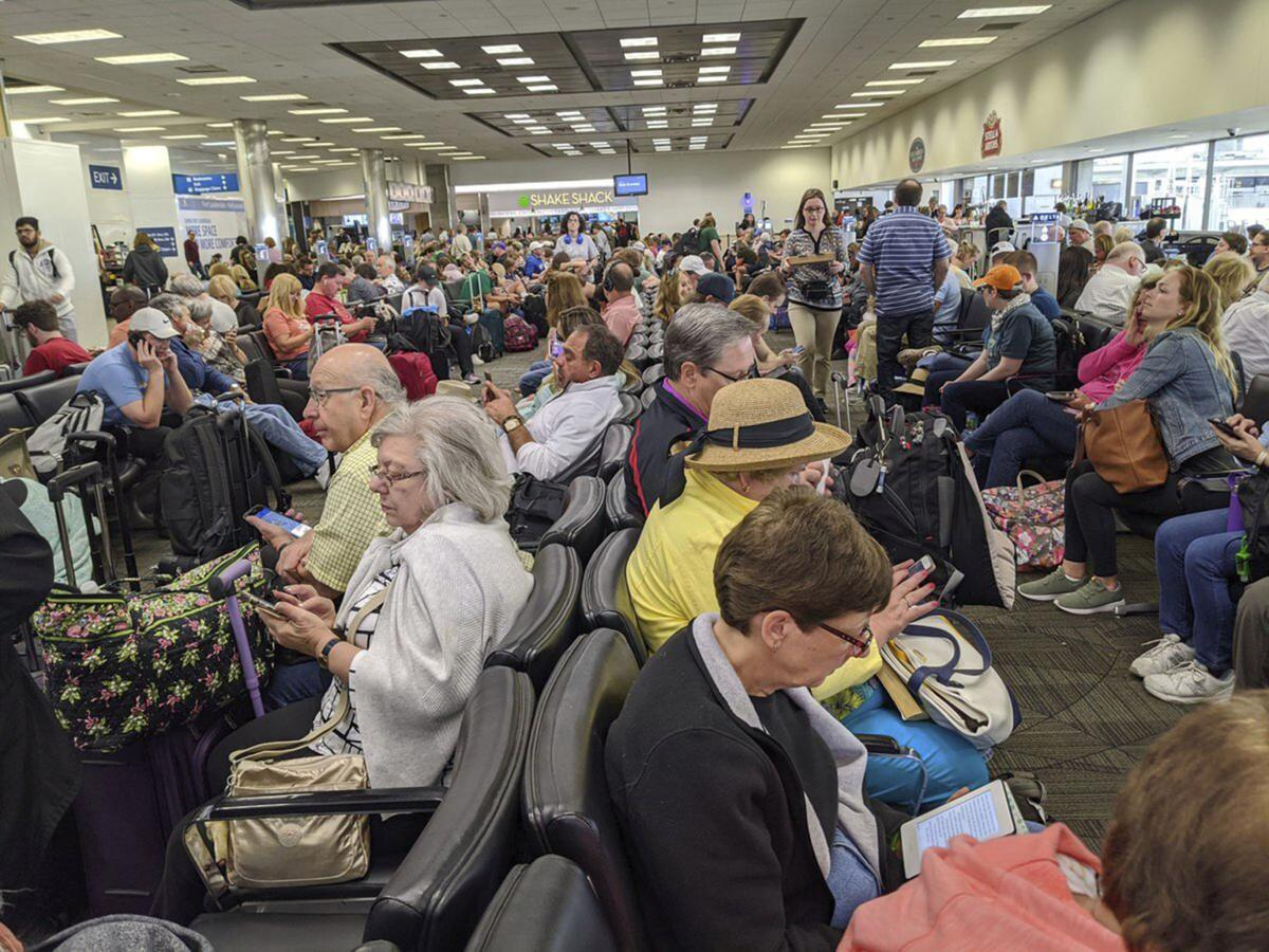Virus Outbreak US Airports