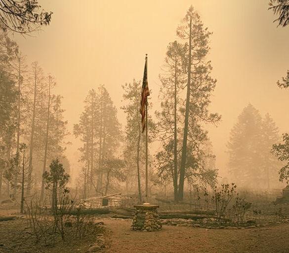 Fire destroys Fishermen's Bend Recreation Site - American Flag