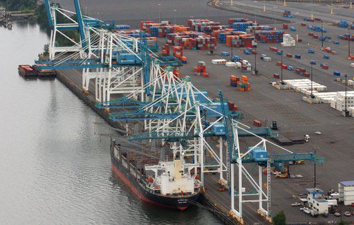 Container ships returning to Port of Portland
