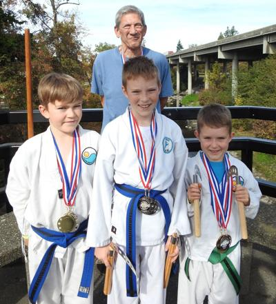 Coquille Martial Arts students in Medford