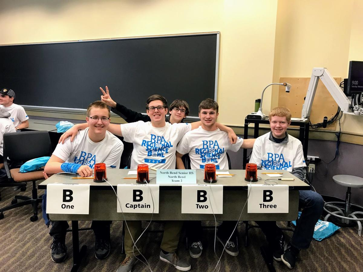 NBHS science team competes