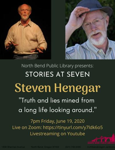 NBPL Stories at Seven: Steven Henegar