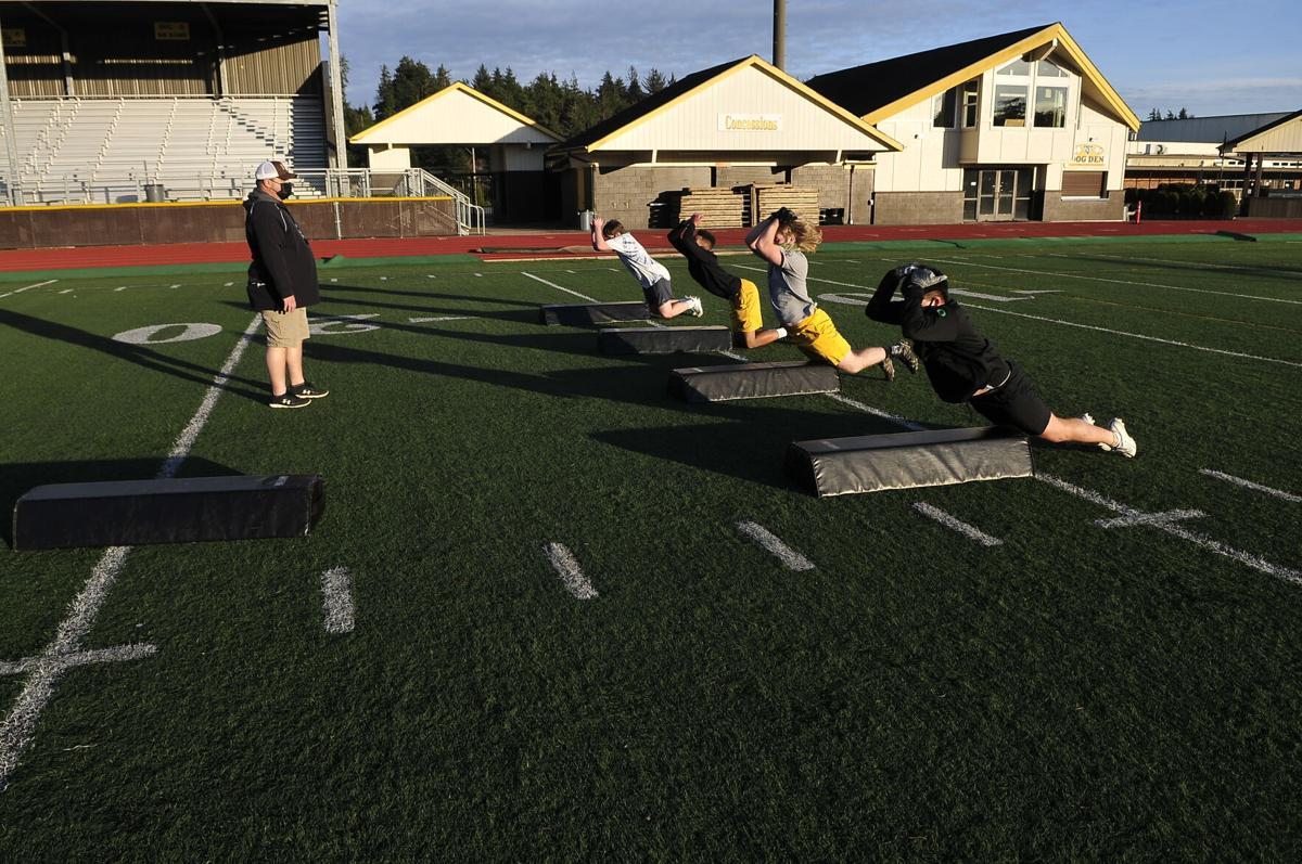 North Bend practice