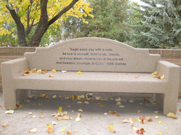 Edrik Gomez bench