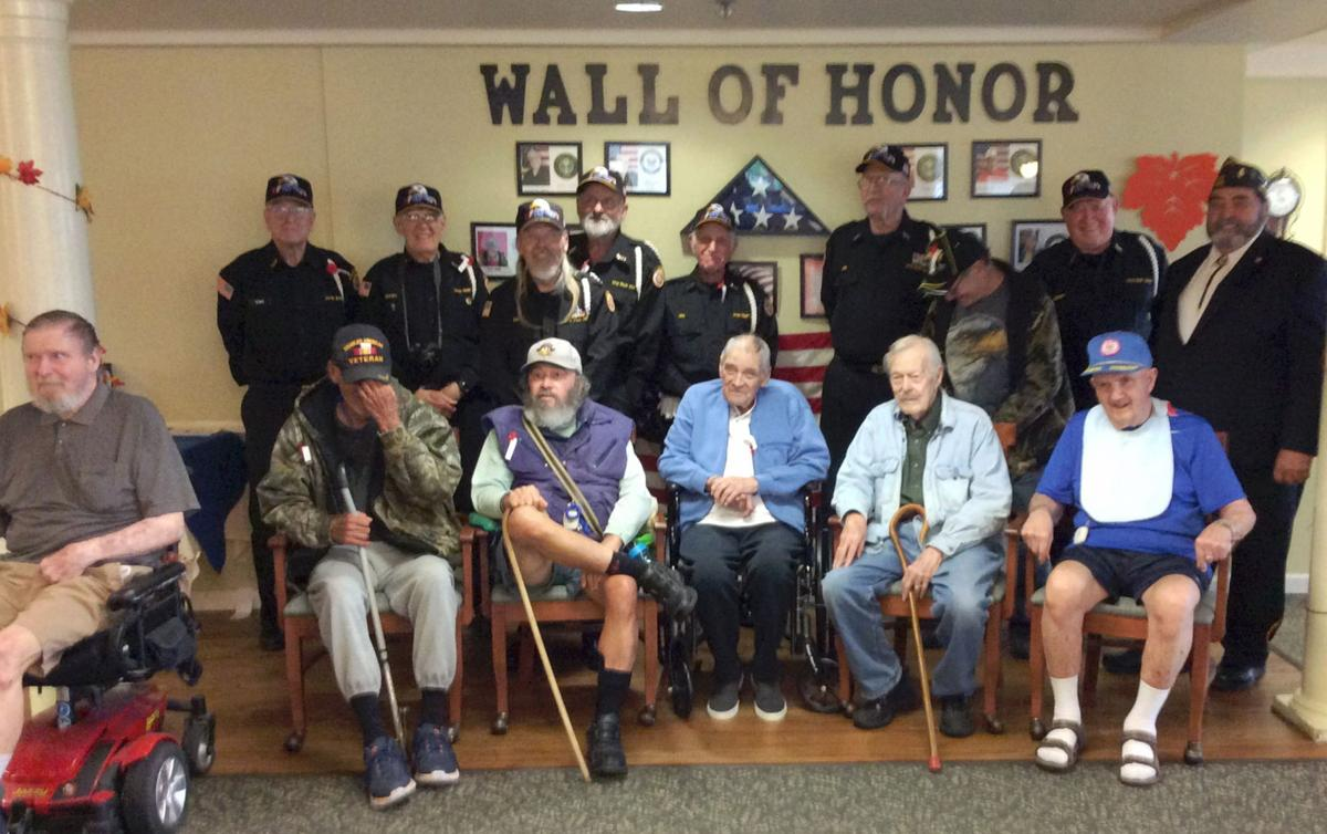 VFW honors vets at Pacific View