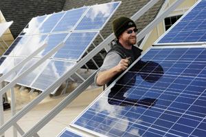 Myrtle Point Food Share solar panels