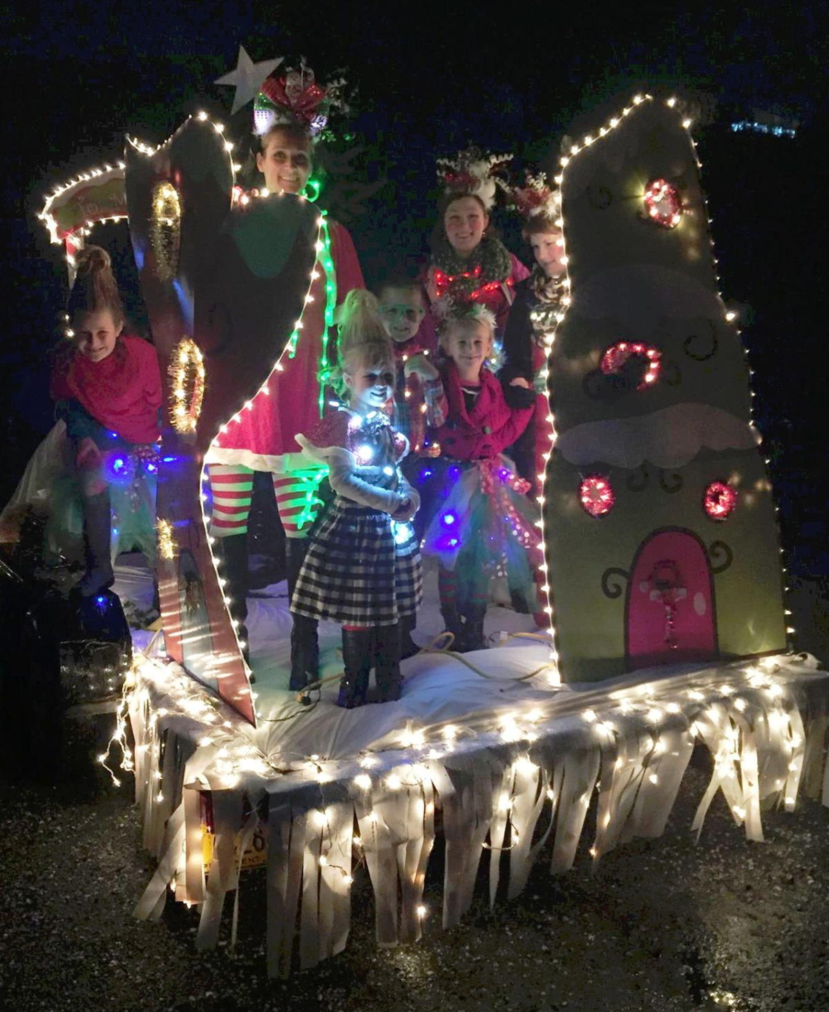 Bandon's annual Lighted Christmas Parade