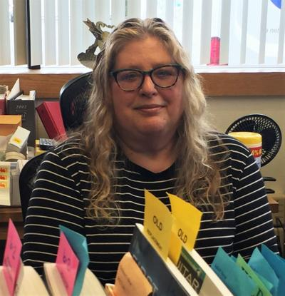 Coos Bay Librarian Pam Granstrom