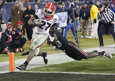 Georgia runs through Louisville | College Sports