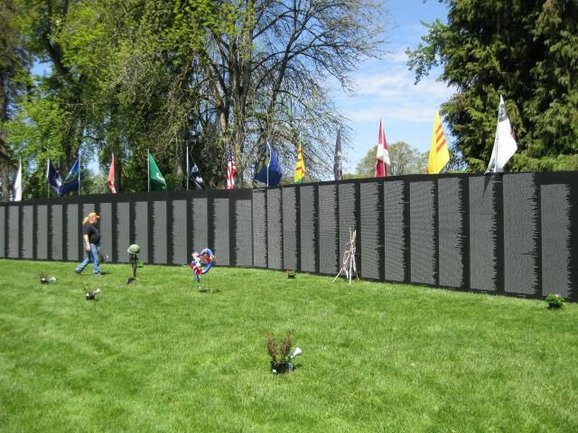 Traveling Vietnam Memorial Wall
