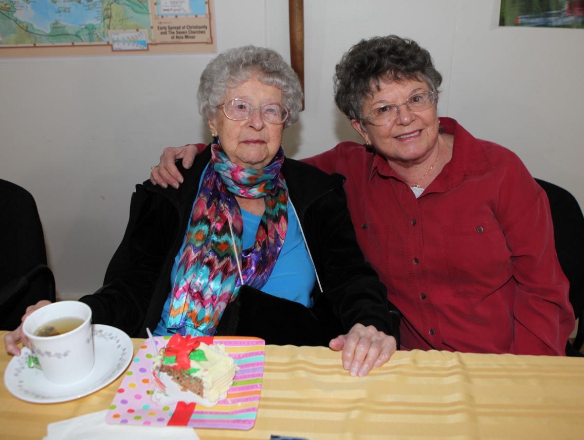 Marjorie Stephenson turns 104