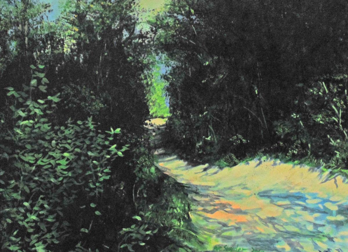 South Slough Estuary Path by Pat Snyder