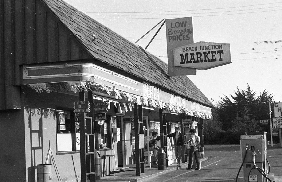 Beach Junction grocery, owned by the Luthers