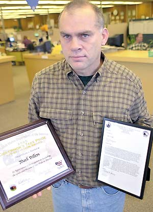 Villers honored for conservation work