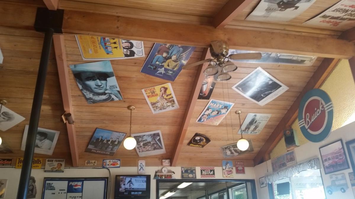 Devils Kitchen ceiling