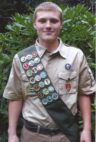 Jared Duval earns Eagle Scout Award