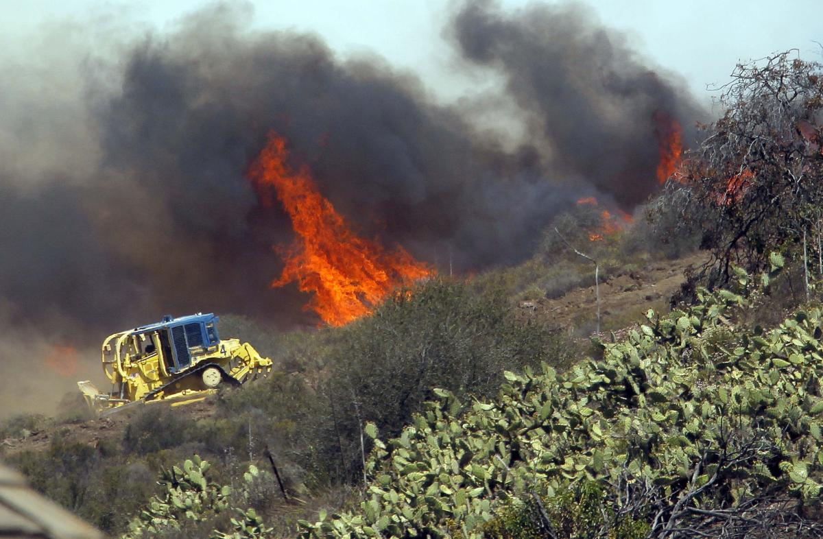 California Wildfires Dangerous Dozers